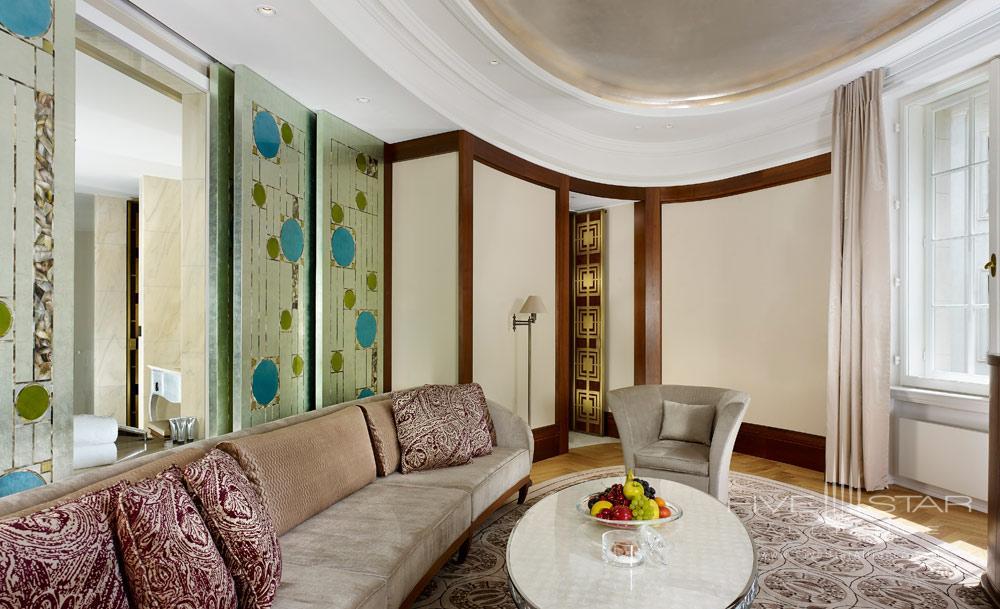Diplomat Suite Living Room at Park Hyatt Vienna