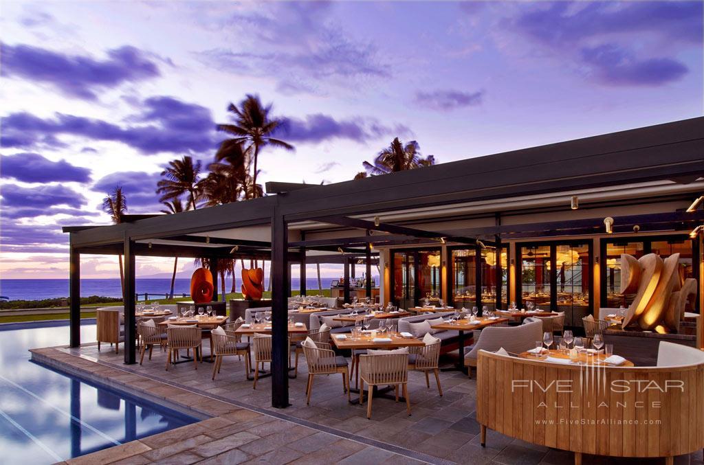 Poolside Dining at Andaz Maui at Wailea, Wailea, Hi, United States