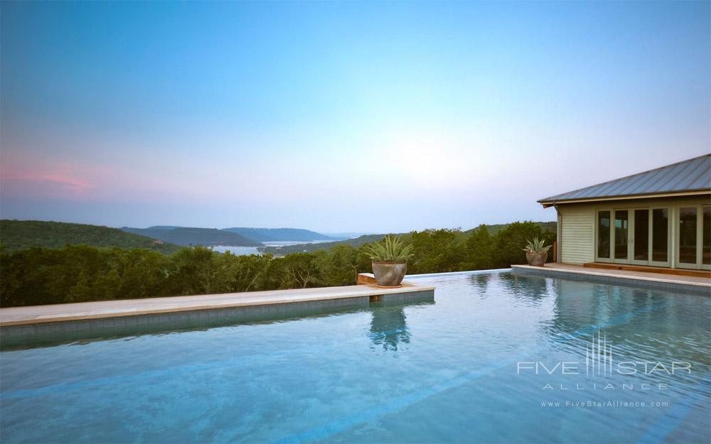 Infinity Pool at Travaasa Austin