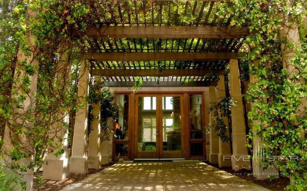 Spa Entrance at Travaasa Austin