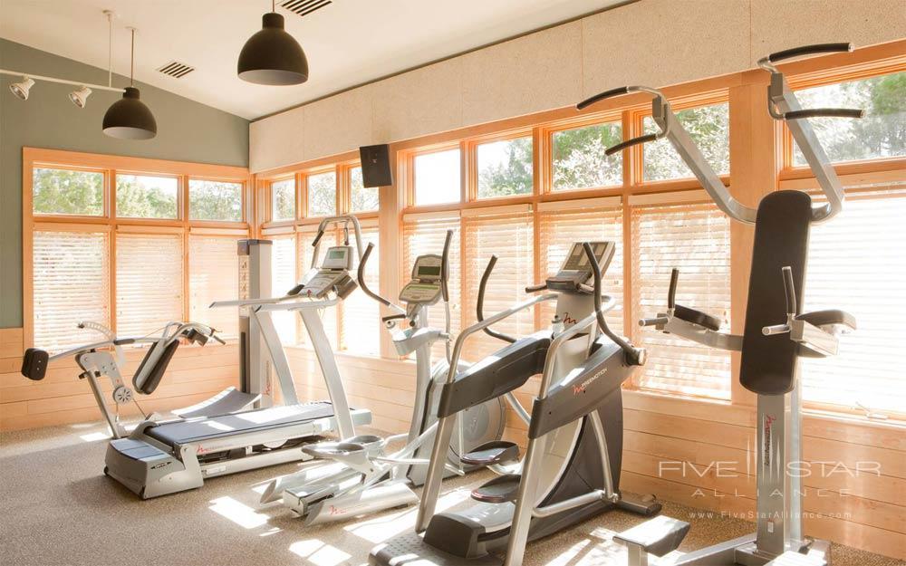 Fitness Center at Travaasa Austin
