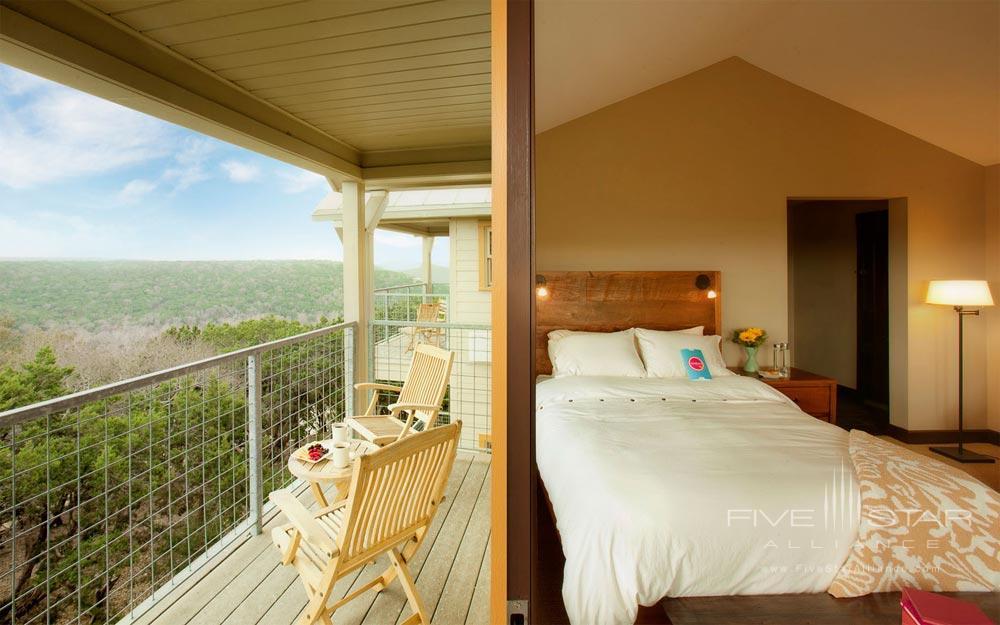 Balcony at Travaasa Austin
