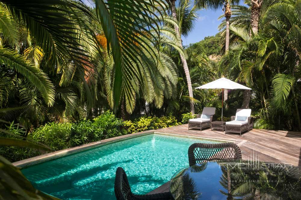 Tropical Suite Pool at Cheval Blanc Saint-BarthFrench West Indies