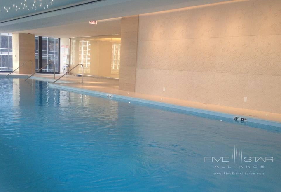 The Langham Chicago Indoor Pool