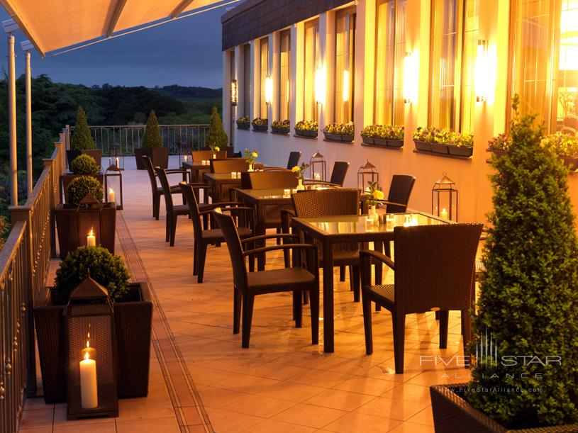 The Dunloe Park Restaurant Terrace