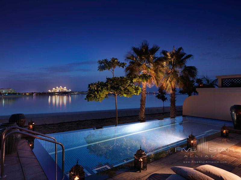 Anantara Dubai-One Bed Beach Villa By The Pool Night View