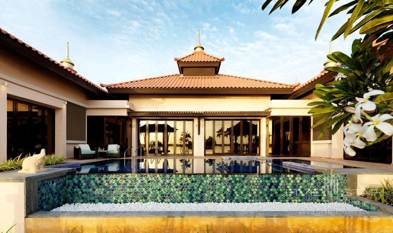 Anantara Dubai-Two Bedroom Beach Villa And Pool