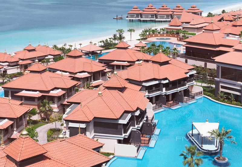 Aerial View of Anantara Dubai The Palm