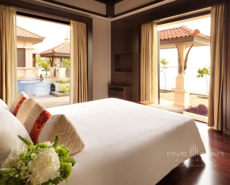 Two Bed Beach Villa Bedroom at Anatara Dubai The Palm
