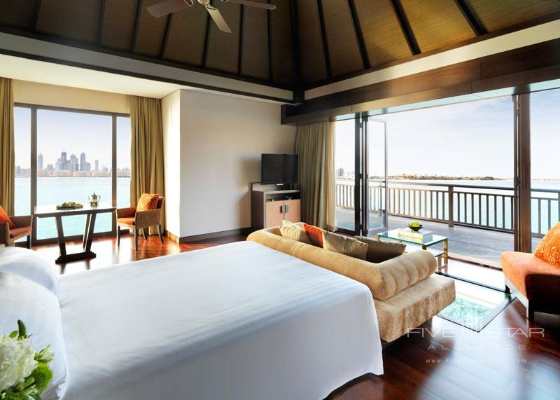 Over Water Villa Bedroom at Anatara Dubai The Palm