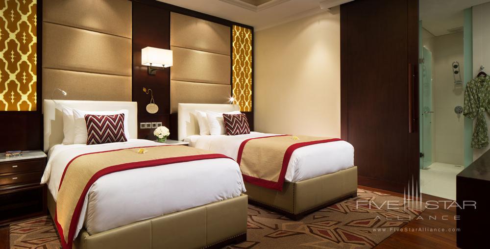 Two Bed Villa Second Twin Room at Samabe Bali Resort and Spa