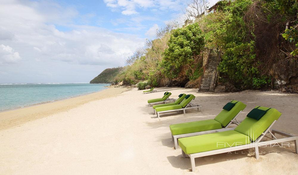 Beach at Samabe Bali Resort and Spa