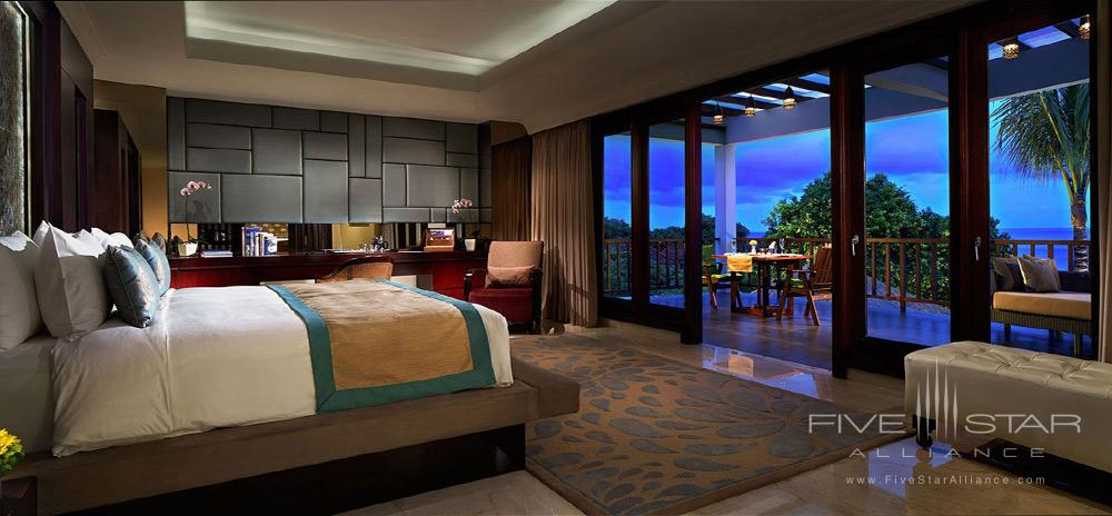 Royal Samabe Residence Bedroom at Samabe Bali Resort and Spa