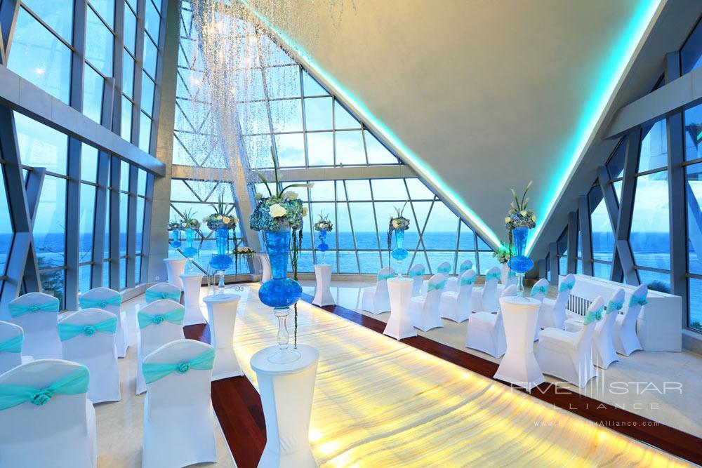 Pearl Chapel Wedding Venue Option at Samabe Bali Resort and Spa