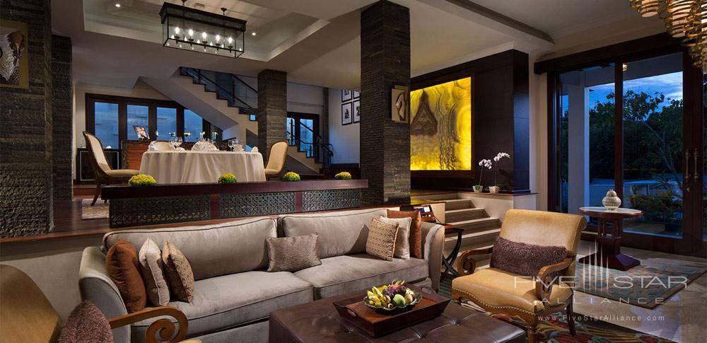 Royal Samabe Residence Living Area at Samabe Bali Resort and Spa