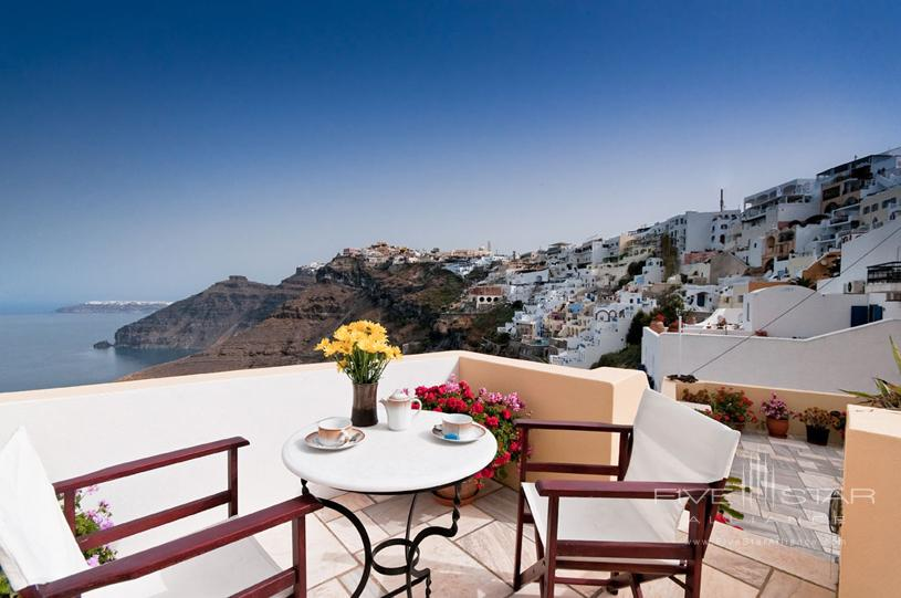 Cori Rigas Suites Balcony View