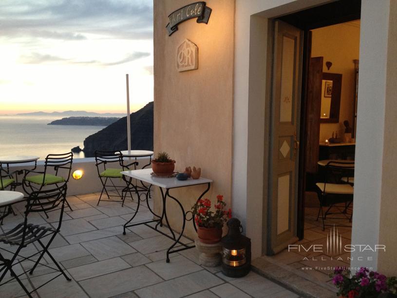 Cori Rigas Art Cafe Reception