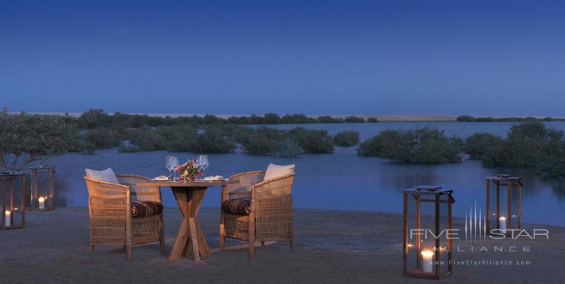 Private Dining at Anantara Al Yamm Villa Resort