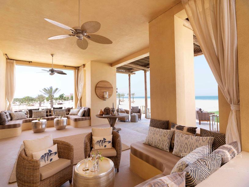 Lounge at Anantara Al Yamm Villa Resort