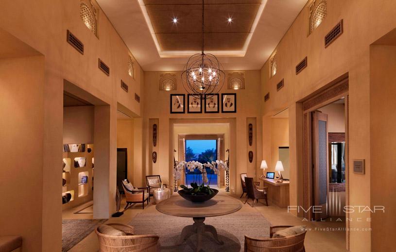 Lobby at Anantara Al Yamm Villa Resort