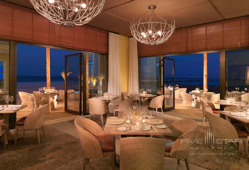 Olio Restaurant at Anantara Al Yamm Villa Resort
