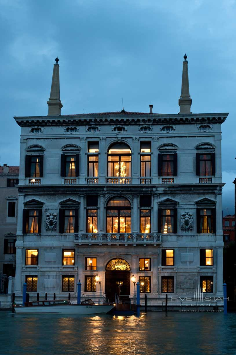 Exterior of The Aman Canal Grande Venice Hotel