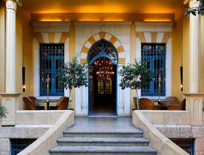Exterior of The Hotel Albergo