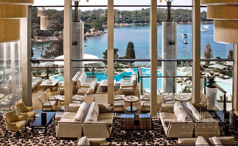 Lobby Area at The Hotel Monte Mulini