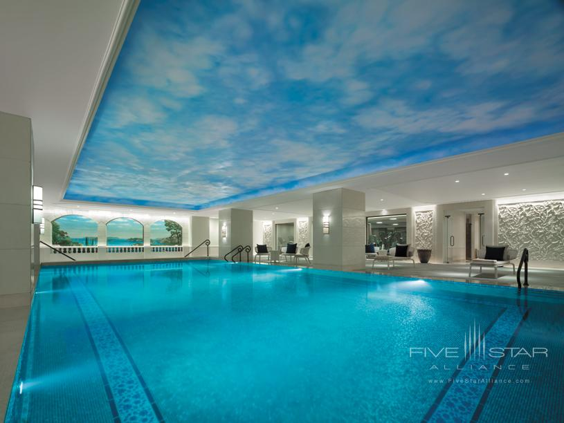 Indoor pool at Shangri la bosphorus