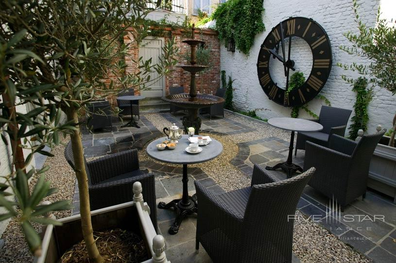 Garden at The Pand Hotel