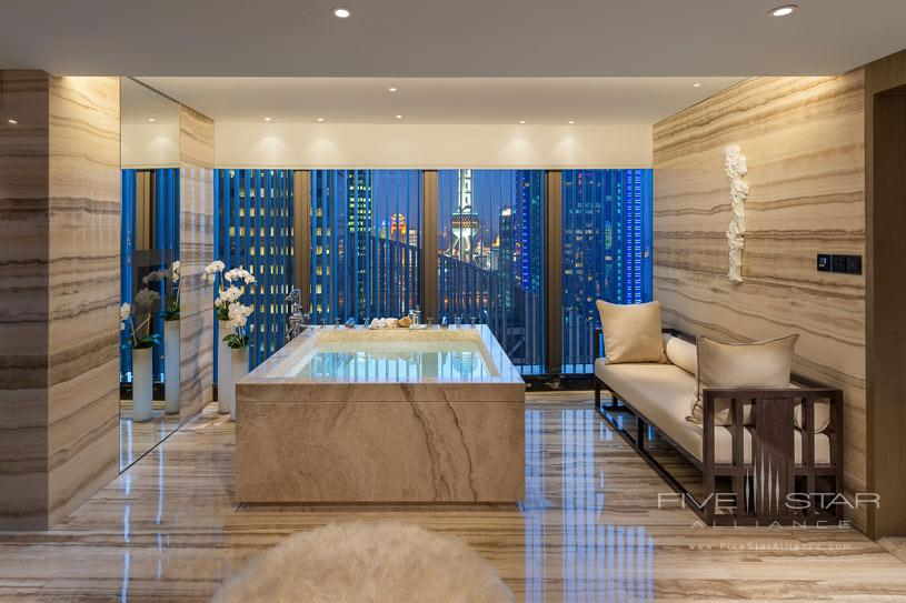 Presidential Bath at The Shanghai Pudong