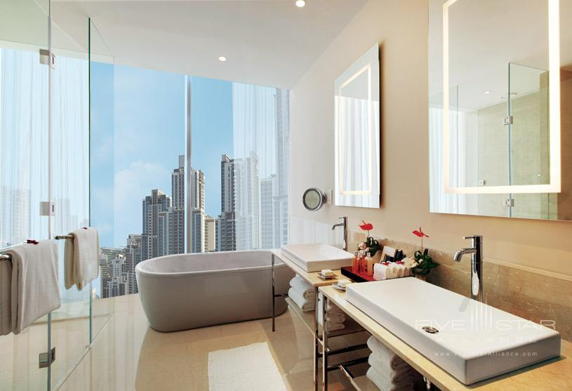 Bath at The Oberoi Dubai Hotel