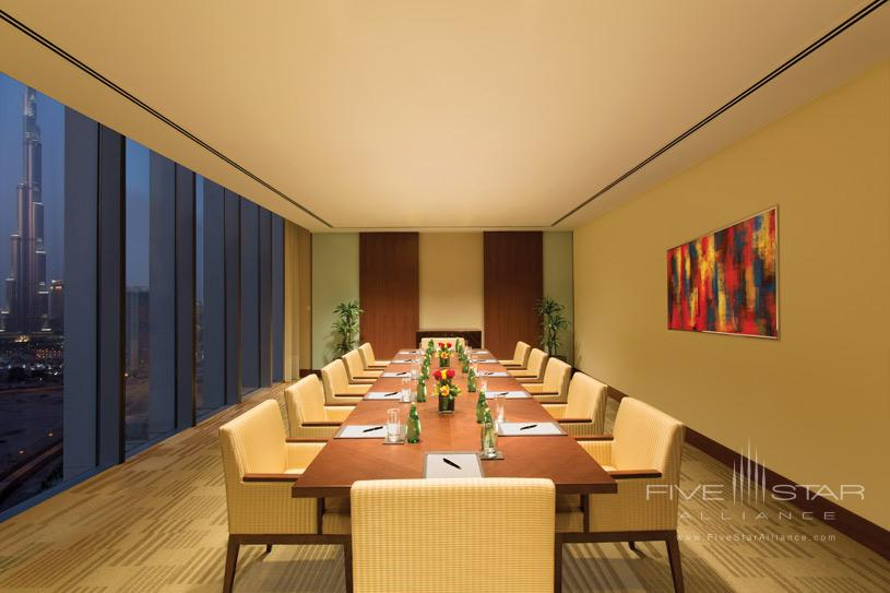 Meeting Area at The Oberoi Dubai Hotel