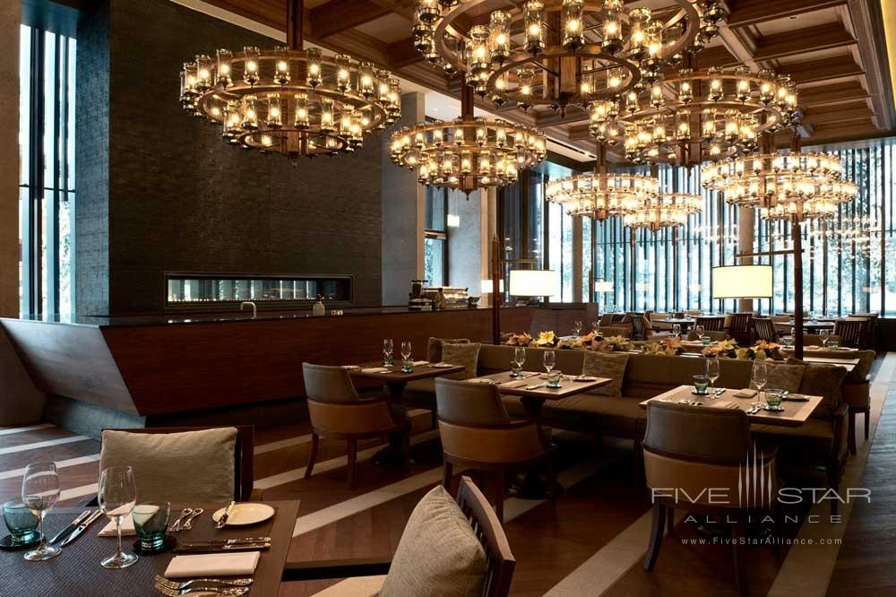 Restaurant at Chedi Andermatt
