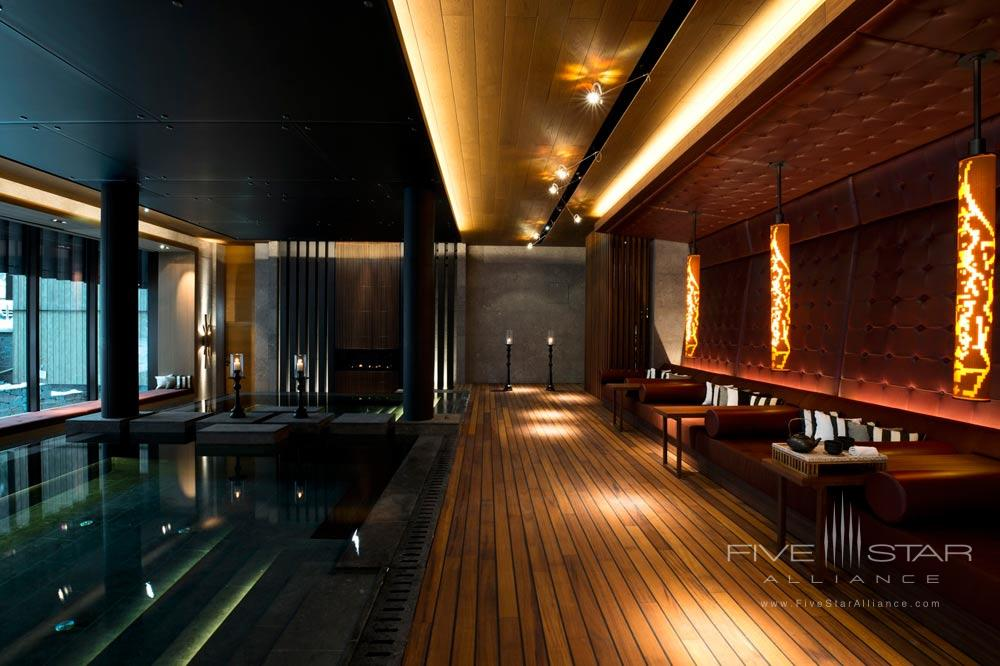 The Spa Hammam at Chedi Andermatt