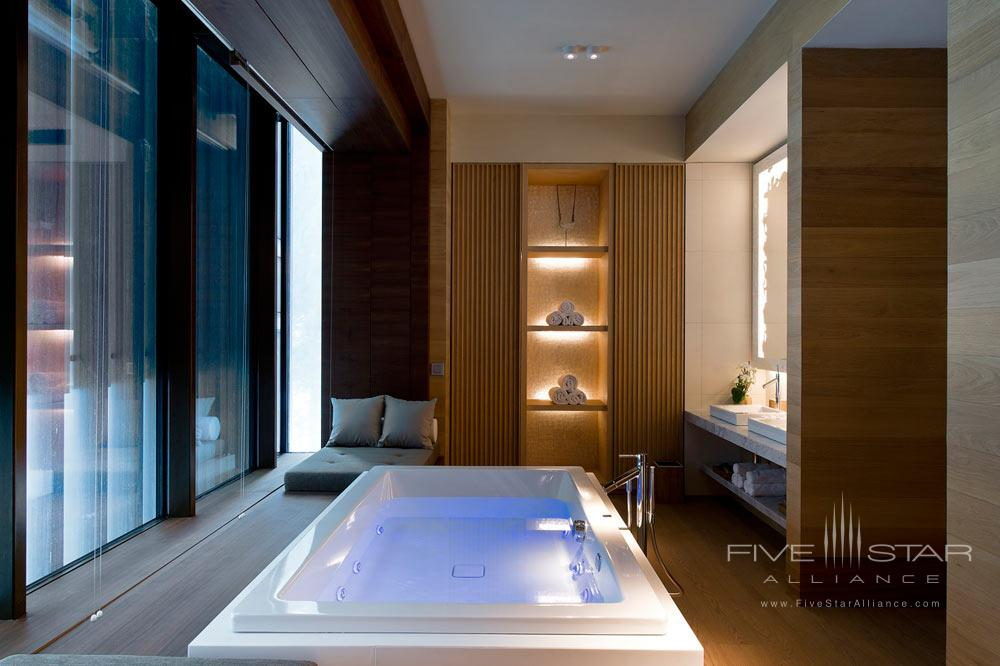 The Spa Kaldwei Crono Pool at Chedi Andermatt