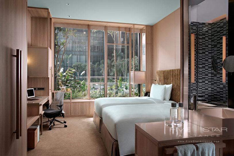 Superior Twin Room at Parkroyal On Pickering