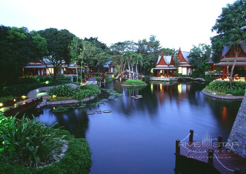 Lake at The Chiva Som Resort