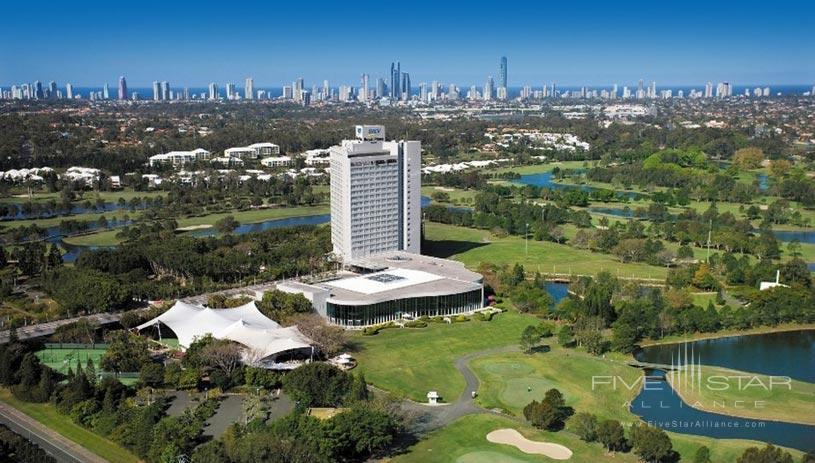 Royal Pines Resort Aerial View