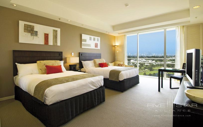 Double Guest Room at Royal Pines Resort