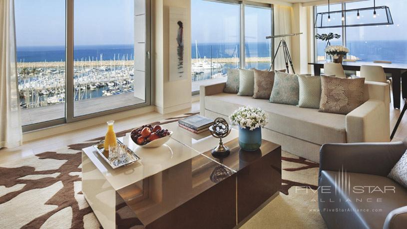 Sitting area at The Ritz Carlton Herzliya
