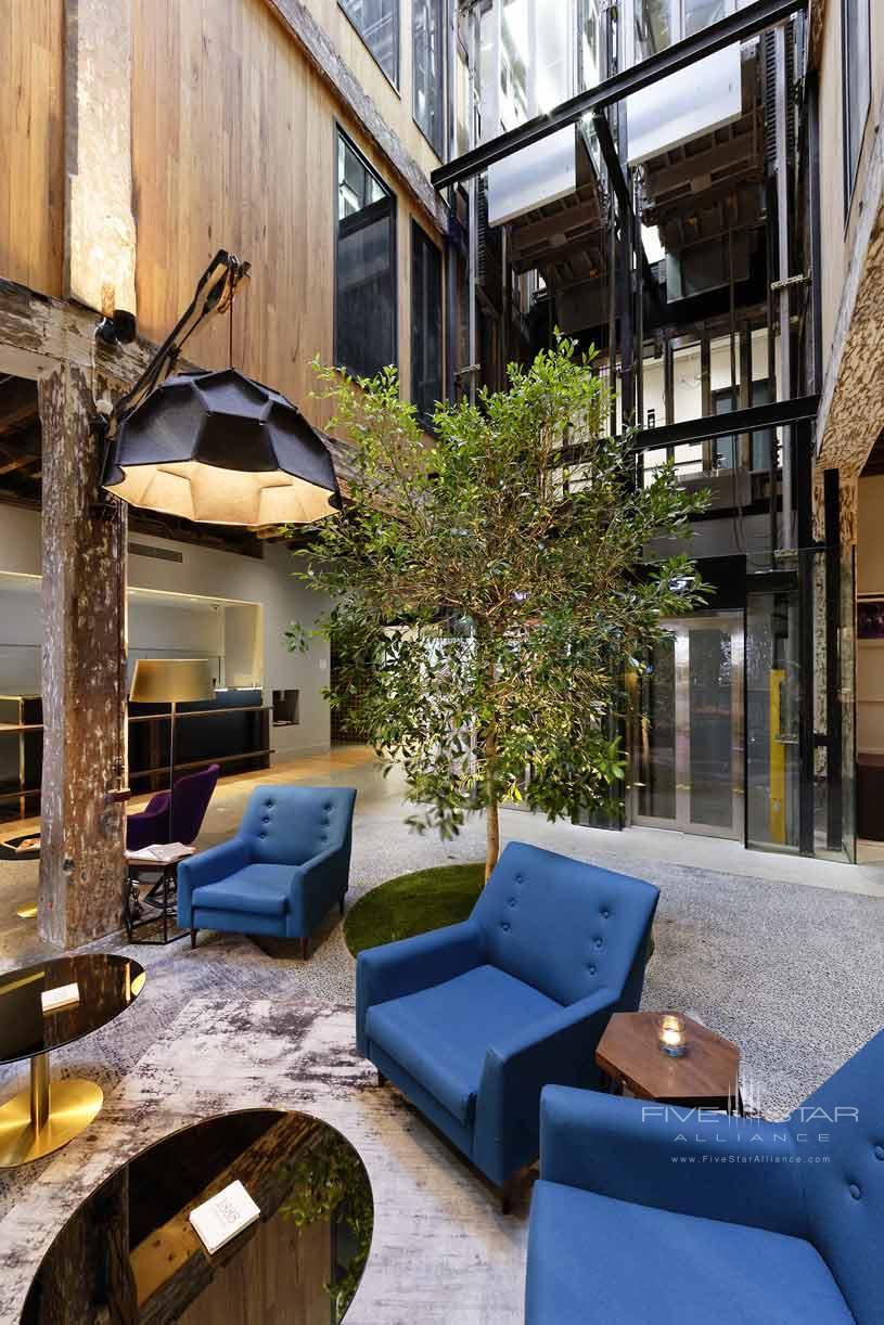Lobby of The Hotel Sydney