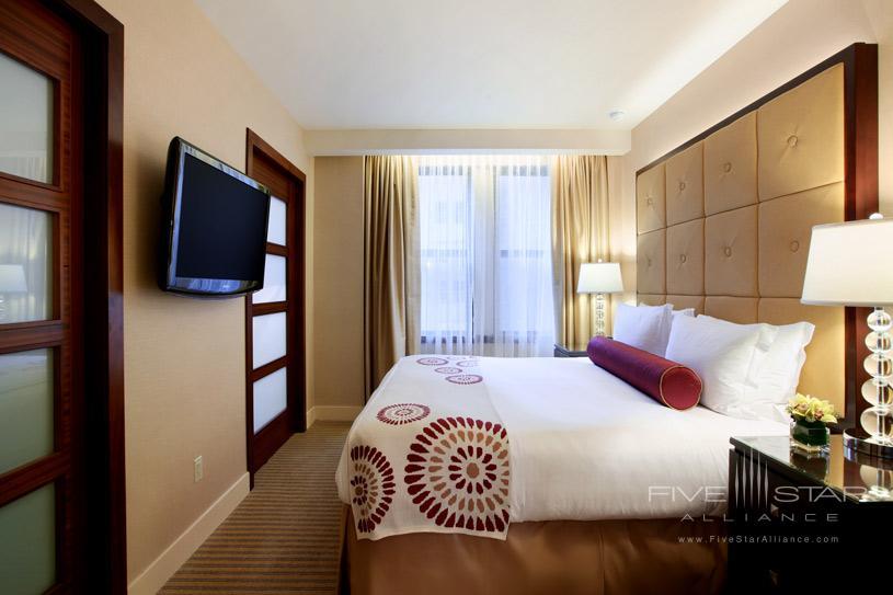 Guest Room at The Millennium Chicago Knickerbocker Hotel