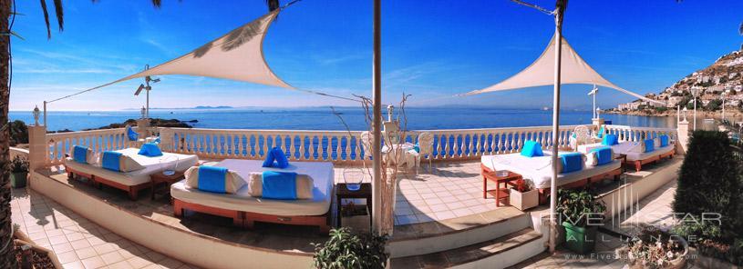 Terrace at Hotel Vistabella
