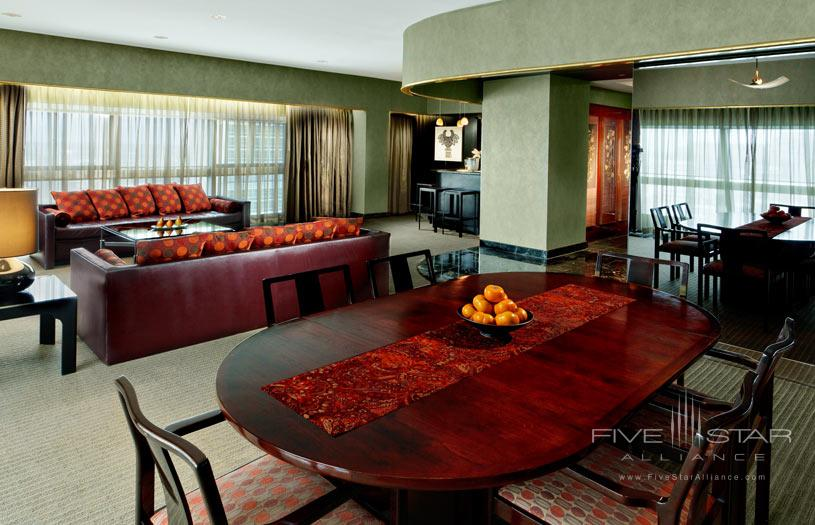 One UN New York Presidential Suite Sitting Area
