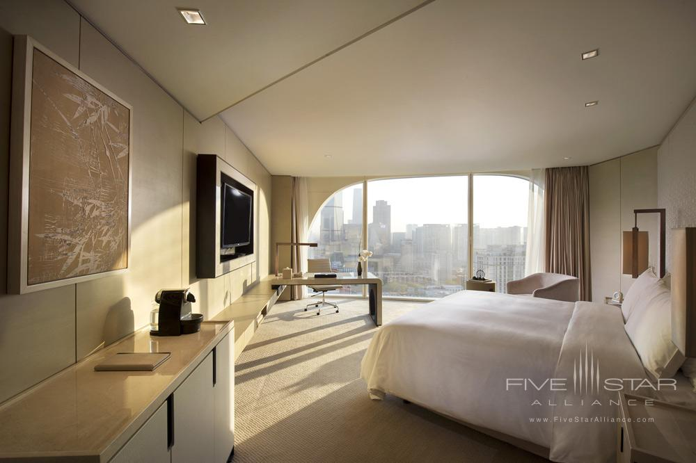 Private corner room with great city views at Conrad BeijingChina