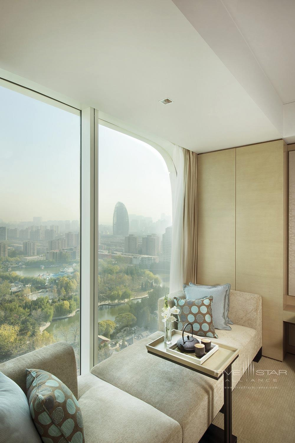 Deluxe room with a lake view at Conrad BeijingChina