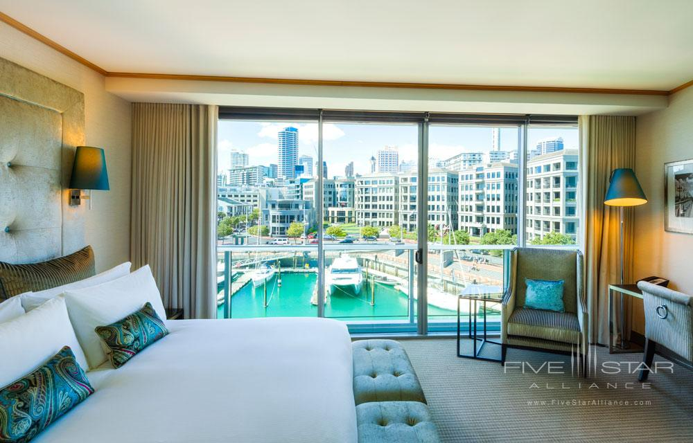 Luxury Guest Room with Marina Views at Sofitel Auckland Viaduct Harbour, New Zealand