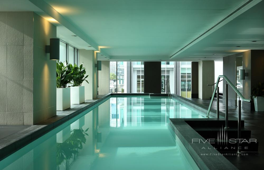 Indoor Lap Pool at Sofitel Auckland Viaduct Harbour, New Zealand