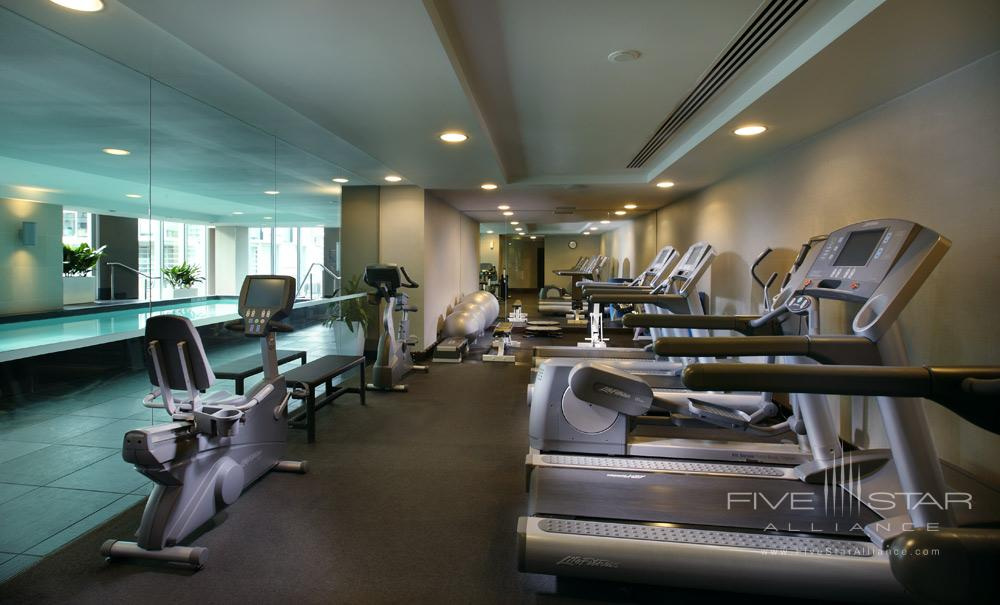 So Fit Gym at Sofitel Auckland Viaduct HarbourNew Zealand